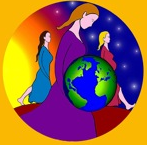 Logo les mères veillent en action